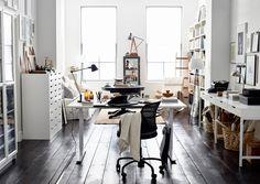 Kaunis ja toimiva työpiste helpottaa työntekoa kotona. Katso Avotakan ideat…