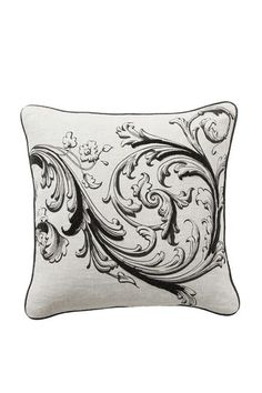 """Baroque and Roll Elite Beaded Pillow - 18"""" x 18"""" - Set of 2"""