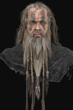 Bareheaded Nord Warrior, Mathieu Aerni on ArtStation at https://www.artstation.com/artwork/bareheaded-nord-warrior