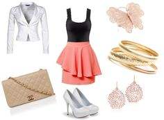 """Peplum Ballerina"" by laydeelove on Polyvore"