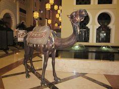 Camel in the Ibn Buttata Gate Hotel (Dubai, UAE)