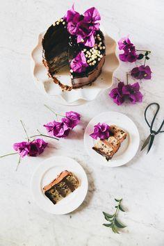 triple chocolate banana cake recipe hummingbird high
