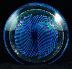 antique art Glass Paperweights | Vintage Robert Eickholt Art Glass Paperweight. I have this, and it's ...