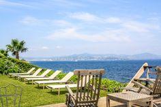 Maison incroyable dans le Parc de Saint Tropez avec vue sur mer