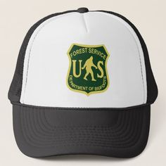 ab3fa111521 Bigfoot US Forest Service Trucker Hat Us Forest Service
