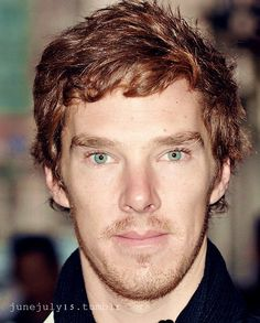 I think this might be my favorite color for his hair.  Although I'm quite partial to the dark hair for Sherlock too.
