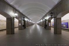 Станция Достоевская Санкт-Петербургского метрополитена - Журнал Игоря Ванина