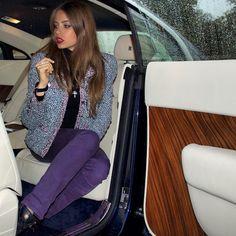 xenia tchoumitcheva @queenxenia   Websta (Webstagram) queenxenia Chanel. By F.Syed