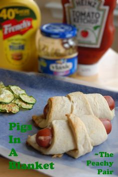 Pigs in a Blanket ~ The Peachy Pair