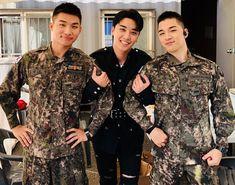 Seungri happily reunites with fellow Big Bang members Taeyang and Daesung at 2018 Army Festival Daesung, Vip Bigbang, Lee Hyun Woo, Choi Seung Hyun, Joo Won, Jung Yong Hwa, Lee Joon, Ji Chang Wook, Yg Entertainment