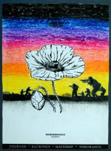 ANZAC/ Remembrance day art