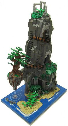 Island Lego Home by cjedwards47 on Flickr