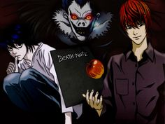 Death Note - Wallpapers4 (very dark, boarder line Satanic, but raises really good questions and makes an excellent point)
