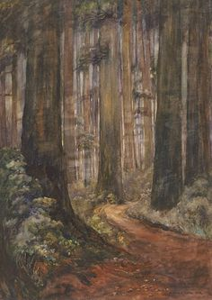 """Emily Carr """"Untitled 1910"""""""