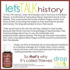 Thieves essential oil.  Young Living's bottled the history and efficacy.  Get yours at www.StopDropAndOil.com/order-oils