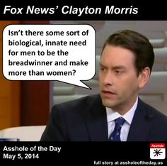 Clayton Morris, Asshole of the Day for May 5, 2014 by GirlGetALife (Follow @Jaline Eguillos-Johnson Lyons Eguillos-Johnson Lyons... getalife!)