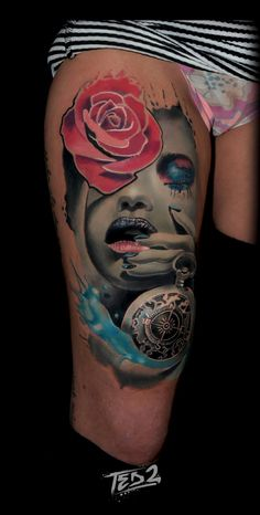 watercolor tattoo wattercolour tattoo aquarell tattoo. Black Bedroom Furniture Sets. Home Design Ideas