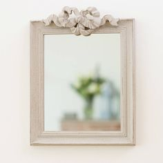 antique carved mirror by dibor | notonthehighstreet.com