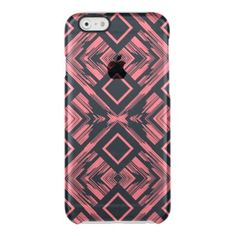 Abstract Pink & Black Minimal Art  Deflector Case - elegant gifts gift ideas custom presents