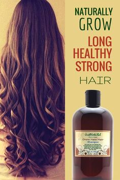 Grow New Hair Shampoo / I have thin hair with very little volume left but this shampoo makes my hair feel so healthy and it just feels thicker. I do not need to use conditioner anymore either. Is it growing hair. You only use a tiny amount of it and one b Natural Hair Styles, Long Hair Styles, Fast Hairstyles, Hair Remedies, Strong Hair, Hair Health, Hair Loss, Hair Hacks, Healthy Hair