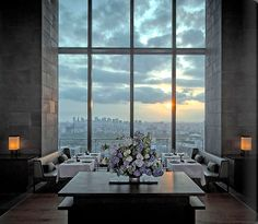 Luxury Hotels Tokyo, Aman Tokyo Album and Picture Tour - picture tour Hotel Lobby Design, Interior Garden, Interior And Exterior, Interior Design, Tokyo Restaurant, Tokyo Hotels, Style Japonais, Hospitality Design, Hotels And Resorts