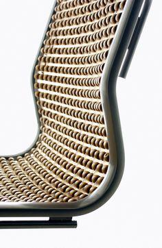 Taksi chair - Arkkitehtuuritoimisto Valvomo OyArkkitehtuuritoimisto Valvomo Oy Extruded Aluminum, Wooden Beads, Warm, Chair, Design, Chairs