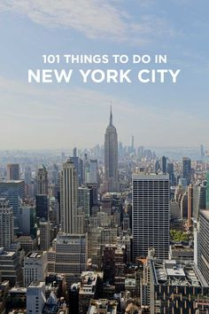 Ultimate New York City Bucket List (101 Things to Do in NYC) - from the touristy spots everyone has to do at least once to the ones a little more off the beaten path. // http://localadventurer.com