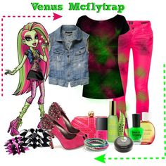 A fashion look from May 2012 featuring t shirts, blue vest and Citizens of Humanity. Browse and shop related looks. Monster High Clothes, Monster High Dolls, Funky Outfits, Cute Outfits, Beverly Marsh, Monster High Characters, Monster High Party, Fandom Fashion, Inspired Outfits