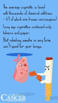 We've all heard about the link between smoking and lung cancer, yet millions of Americans will still die this year from smoking. It's time to Kick Butts! The Truth About Cancer