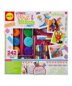 Love this Ultimate Knit & Stitch Party Set on #zulily! #zulilyfinds