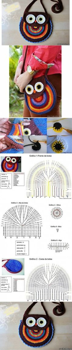 "Image Spark - Image tagged ""diy"", ""crochet"", ""owl"" - diyjoy"
