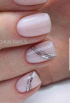 Classy Acrylic Nails, Cute Gel Nails, Short Gel Nails, Chic Nails, Classy Nails, Best Acrylic Nails, Fancy Nails, Stylish Nails, Pretty Nails