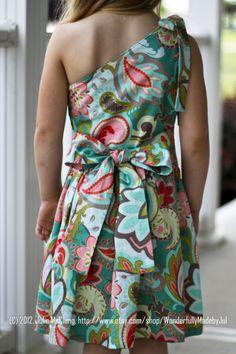 Little Girl Dress Custom Boutique