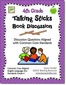 Talking Sticks is a strategy that encourages all students to participate equally in a discussion. It can be used after a read aloud, as a part of Literature Circles, during small group literacy instruction or in a whole group. Discussion questions aligned with Informational Text, Literature, Speaking, and Listening CCSS. Preview the entire ebook before you buy. ($)