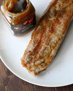 Apple Butter Pork Tenderloin