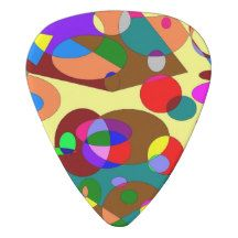 Abstract Pattern Guitar Pick