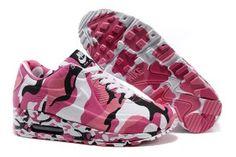 Offerte online air max 90 vt camouflage rosa,bianche,nere - scarpe da corsa nike donne a bassissimo costo