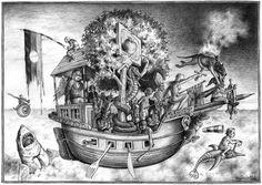 """""""Narrenschiff"""" von Thomas Bühler"""