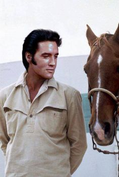 Love the way he is looking at his horse