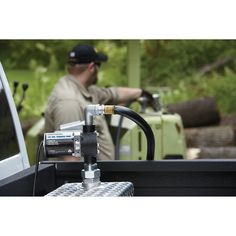 Roughneck Fuel Transfer Pump — 1/4 HP, 12 Volt, 8 GPM
