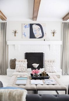 Two sisters, Kristen Giorgi and Laura Naples show us how to decorate two spaces using mainstream furniture and accessories for an individualized unique decorating style. For more home interior design ideas and expert decorating tips go to Domino.