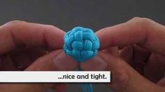 How to Make a Tiny Globe Knot by TIAT, via YouTube.