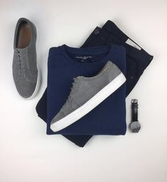 pulls for men inspiration grid style outfits mens outfit men's fashion style inspiration casual style Stylish Men, Men Casual, Stylish Clothes, Nike Slippers, New Mode, Men With Street Style, Men Street, Casual Outfits, Fashion Outfits