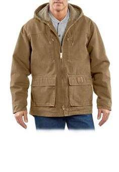Carhartt Mens C95 Sandstone Jackson Coat - Frontier Brown | Buy Now at camouflage.ca