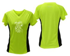 30088775 Reflective Short Sleeve - Women's Reflective T-Shirt - Adventure is Calling  - RUSEEN Reflective