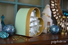 My parentspicked upmy three oldest kids yesterday afternoonand I took the opportunity to stop into Hobby Lobby to see if they had any good Christmas clearance left. I lucked out on scoring any after-Christmas items but I did come across a few other craft supplies that gave me the idea to make my first marquee…