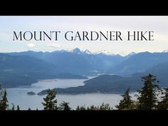 A hike to Mount Gardner on Bowen Island provides the perfect opportunity for a quick escape from the city. The views from the summit are excellent. Bowen Island, Vancouver, Opportunity, Trail, Hiking, Mountains, City, Outdoor, Walks