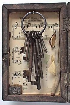Together they sang the most beautiful tune in perfect harmony. Bunch of keys are brought together in a mission. Each key are the access to various wisdom to enlightenment and connects to the Master Key. The key to Universal Library of the most precious and Wisdom of the Creator.