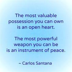#itstartswithme #changetheworld #loveheals #quote #carlossantana #santana #peace #love #hope #compassion #heart