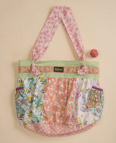 Spring Has Sprung Paneled Hobo Bag